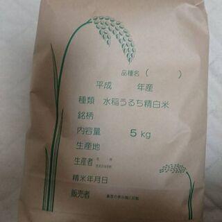 新潟産ブレンド米(令和2年産精米10㎏)