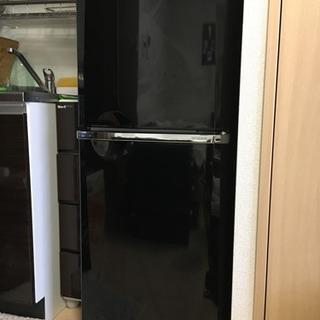 【  三菱⠀】冷蔵庫 ブラック 1人暮らし用