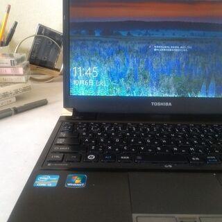 まだまだ使えるスリムモバイルPC/Windows10/東芝ダイナブック