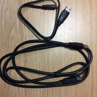 USBケーブル2本