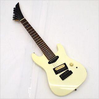 ミニエレキギター ホワイト ハードロック メタル 入門 子供  ...