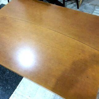札幌近郊 送料無料 木製 座卓テーブル 座卓 ローテーブル テーブル センターテーブル 机 分割可能  幅150㎝×奥行110㎝×高さ40㎝ − 北海道
