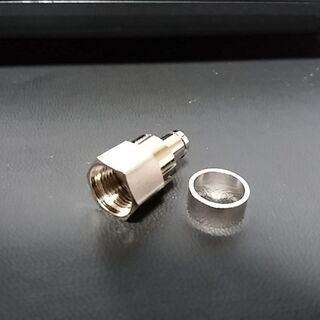 アンテナ接栓 F型コネクター 5Cケーブル用 100個