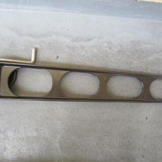 バルコニー物干し竿金物(横収納型)  1つ 新品未使用品 70&引き