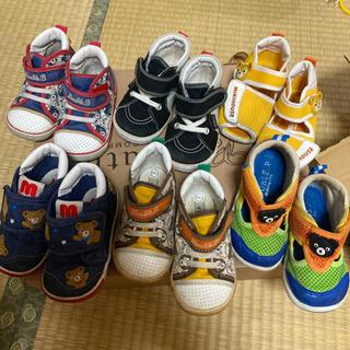 ミキハウス ダブルビー 子供靴 13.5cm