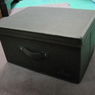 収納ボックス 収納ケース 布製 布ケース フタ付きBOX ブラウン - 札幌市