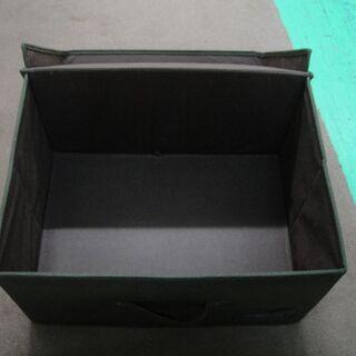 収納ボックス 収納ケース 布製 布ケース フタ付きBOX ブラウン - 家具