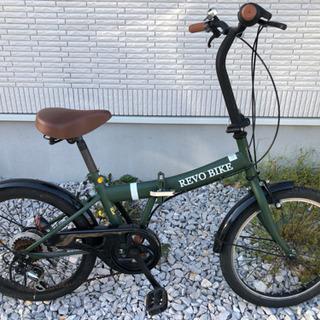 REVO BIKE  折りたたみ自転車  シマノ6段変速付き
