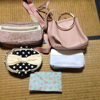 ハンドバッグ 鞄 トート レディース 女性用 9セット