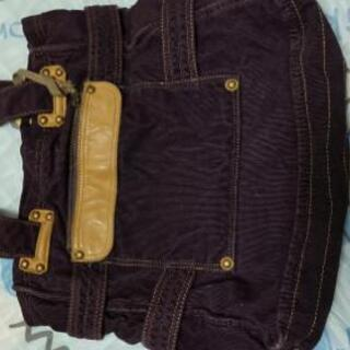 紫トートバッグ 美品