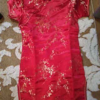 美品 110くらい チャイナ服 ドレス プリンセス ハロウィン