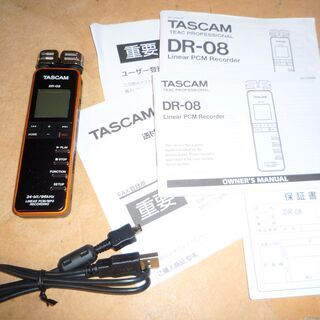 ☆タスカム TASCAM DE-08 リニア PCM レコ…