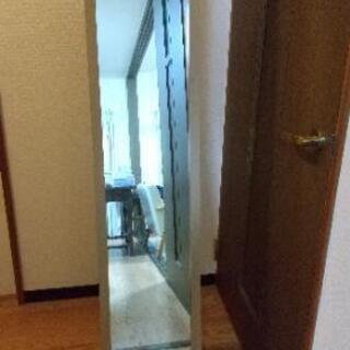 【姿見】自立式鏡(全身ミラー)