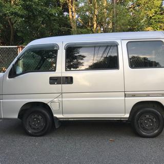 平成12年 サンバー ディアス TV2 シルバー 4WD MT AC 走行12.5万キロ 車検対応可 − 神奈川県