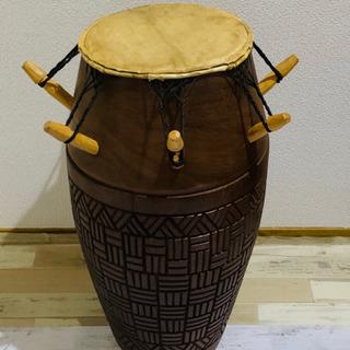 アフリカンドラム 打楽器 太鼓 パーカッションの画像