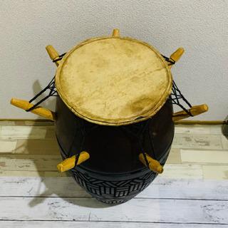 ガーナアフリカンドラム 打楽器 太鼓 パーカッション - 廿日市市