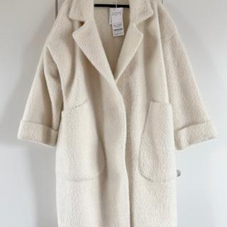 ロディスポット コート ホワイト 新品タグ付き