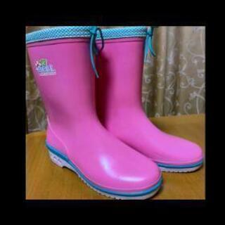 大雨対策に☔長靴 22.5EEセンチ 長靴(ムレ防止加工)アサヒ製☔