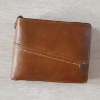《引き取り限定》DOUBLES二つ折り財布