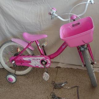 自転車 18インチ 補助輪付き