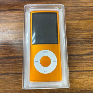 動作未確認 iPod nano 8GB オレンジ
