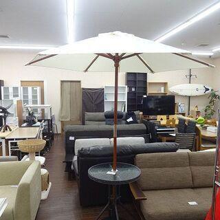 札幌 引き取り ガーデニング パラソル&テーブルセット ガーデン...