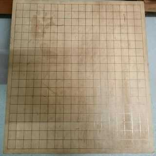 【中古】木製碁盤① 詳細不明