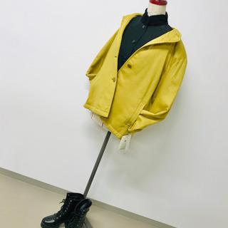 秋冬 マスタード 黄色 カラーコート m〜L 9号〜11号 アウ...