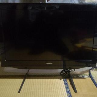 東芝32インチ液晶「LED REGZA」 外付けHDD録画可能!...
