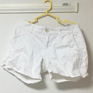 【古着】アメリカンイーグル ショートパンツ(白Lサイズ)