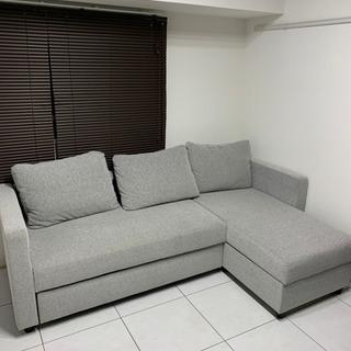 中古美品 ニトリのソファベッド