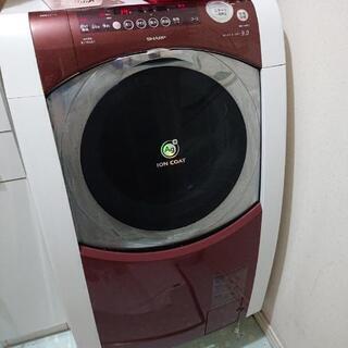 シャープドラム式洗濯機  愛情Ag+ドラム ES-HG91Fの画像