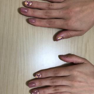 爪のケア&マニキュア(アート付き)無料【徳島の方】