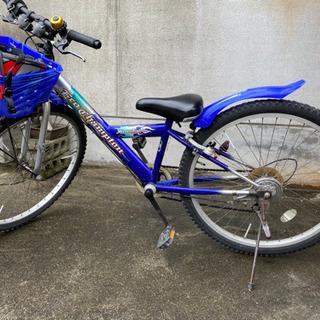 小学生中〜高学年用自転車です