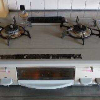 リンナイKGE61GL ガスコンロ プロパン用 2口 Siセンサー付