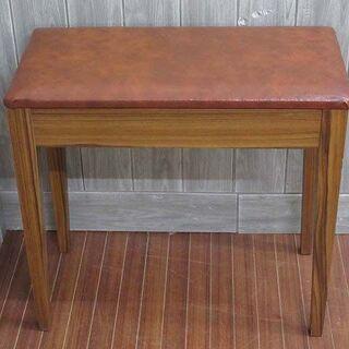 ss1619 ピアノ椅子 ブラウン 高さ固定タイプ ベンチ…