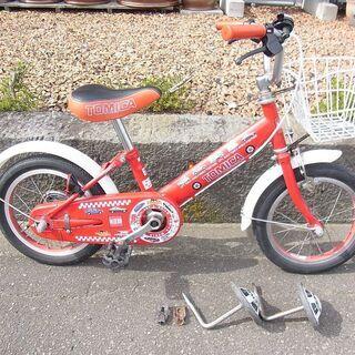 子供用 自転車 14型 トミカ TOMIKA
