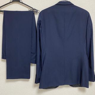 取引者決定✿メンズスーツ XL 紺色縦縞 - 京都市