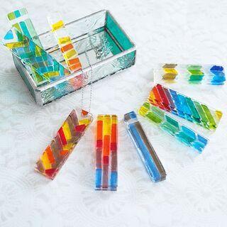 ガラスフュージングアクセサリー&ガラストレイ手作り体験