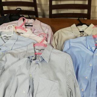 ユニクロ XL ワイシャツ ネルシャツ まとめて 計8枚