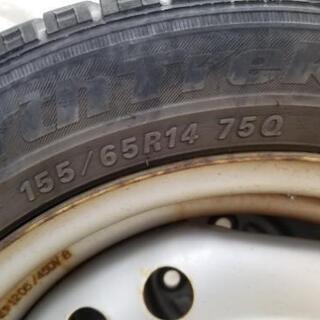 155/65R14スタッドレス