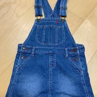 デニムサロペットスカート☆130cm