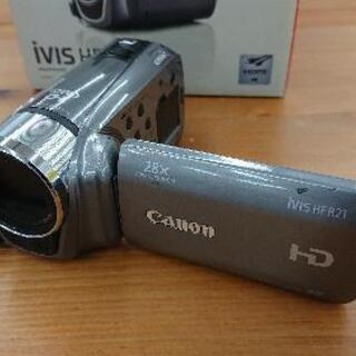 CANON(キャノン) HDビデオカメラ ivis「HFR21」...