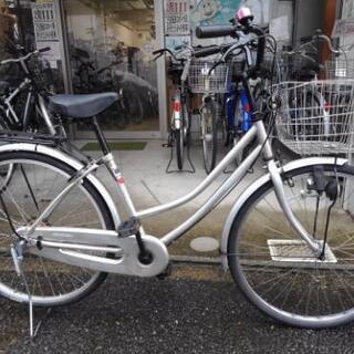 中古自転車1175 26インチ ギヤなし ダイナモライト