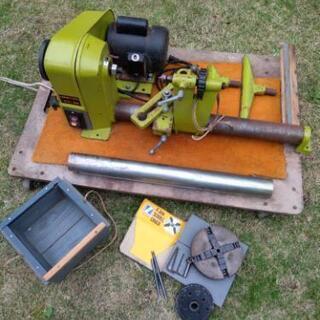 ナカトミ産業 木工旋盤 HOMETOOL WT-300 チ…