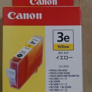 Canon キャノン純正 インク BCI-3eY (イエロー) ①