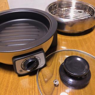 1〜2人用 卓上クッカー 5点セット ホットプレート 電気鍋