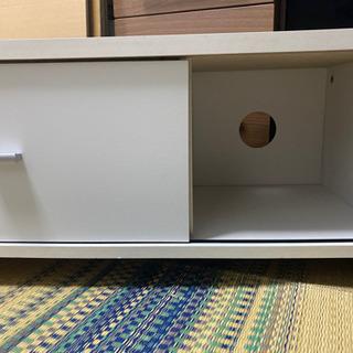ニトリ テレビ台 白の画像