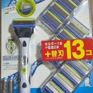 お得品 ひげそり シック 電動ホルダー 替刃13個  未使用品 の画像