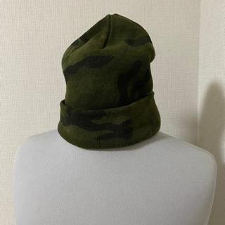 カモ柄 帽子 mousy